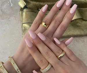 jewerly, unhas, and nails image
