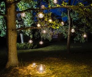 backyard lighting image