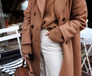 brown, fashion, and white image