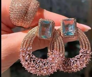 aesthetic, chic, and earrings image