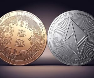 crypto, bitcoin, and cryptocurrency image