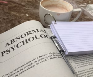coffee, psychology, and study image