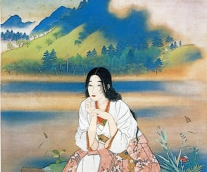 japan, peintre, and Painter image