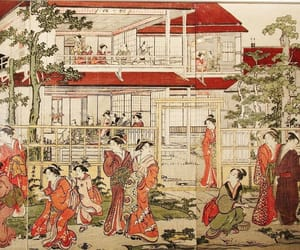 japan, ukiyoe, and Painter image