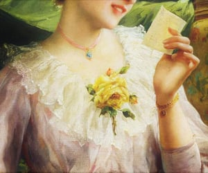 detail, emile vernon french, and reading a love letter image