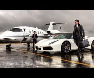 business, life, and rich person image