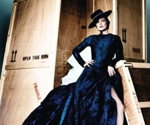 editorial, vogue, and fashion image