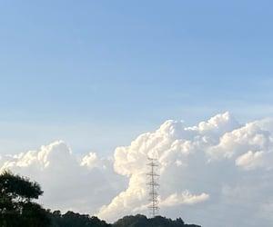 sky, summer, and window image