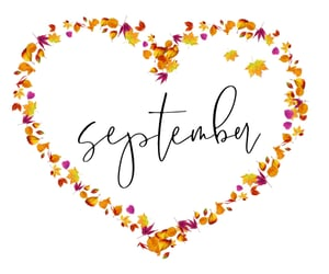 fall, quotes, and September image