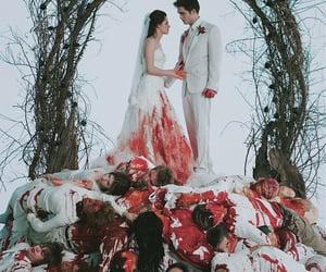 twilight, blood, and vampire image