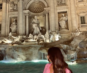 roma, fontana di trevi, and rome image
