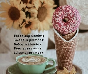 cafe, coffee, and dulce image