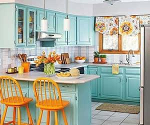 suadecoracao, cozinha decorada, and cozinha azul image