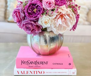 aesthetic, flowers, and pink flowers image