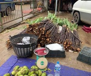 fruit, sugar cane, and Laos image