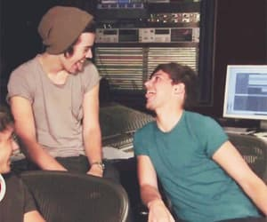 larry stylinson, 1d, and louis tomlinson image