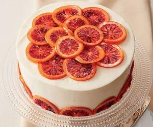 blood orange, cake, and food image