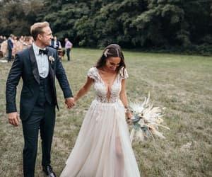 wedding dress and beach wedding dress image