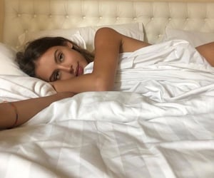 beautiful, brunettes, and dreamy image