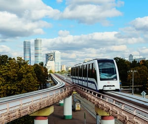 Moscow - Monorail road