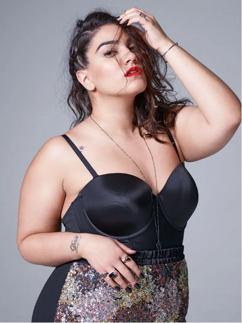 article and plus-size lingerie image