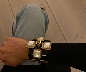 bracelet, chanel, and luxury image