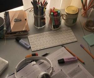 back, book, and desk image