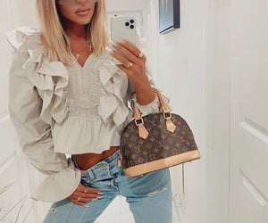 pretty, fashion, and look image
