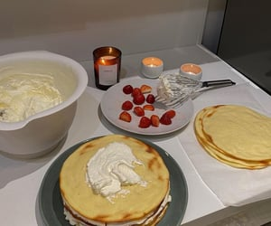 baking, crepe, and delicious image