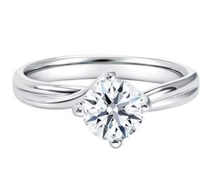 diamond ring, engagement ring, and diamond engagement ring image