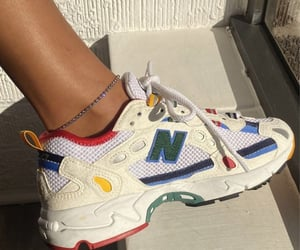 sneakers, new balance, and shoes image
