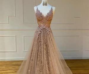 ball gown, evening gown, and formal dress image