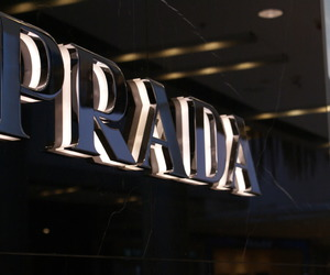 Prada, luxury, and black image