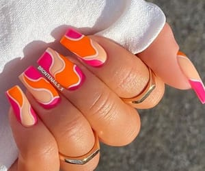 nail art, nail designs, and nail art compilation image