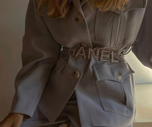 aesthetic, belt, and chanel image
