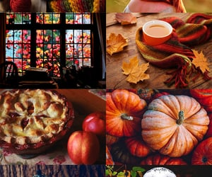 autumn, october, and ravenclaw image
