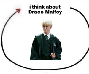harry potter, draco malfoy, and harrypotter image