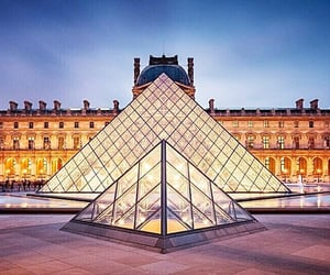 paris, courtyard, and france image