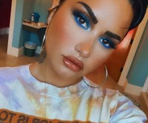 demi lovato and makeup image