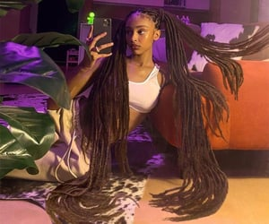 beauty, clothes, and dreads image
