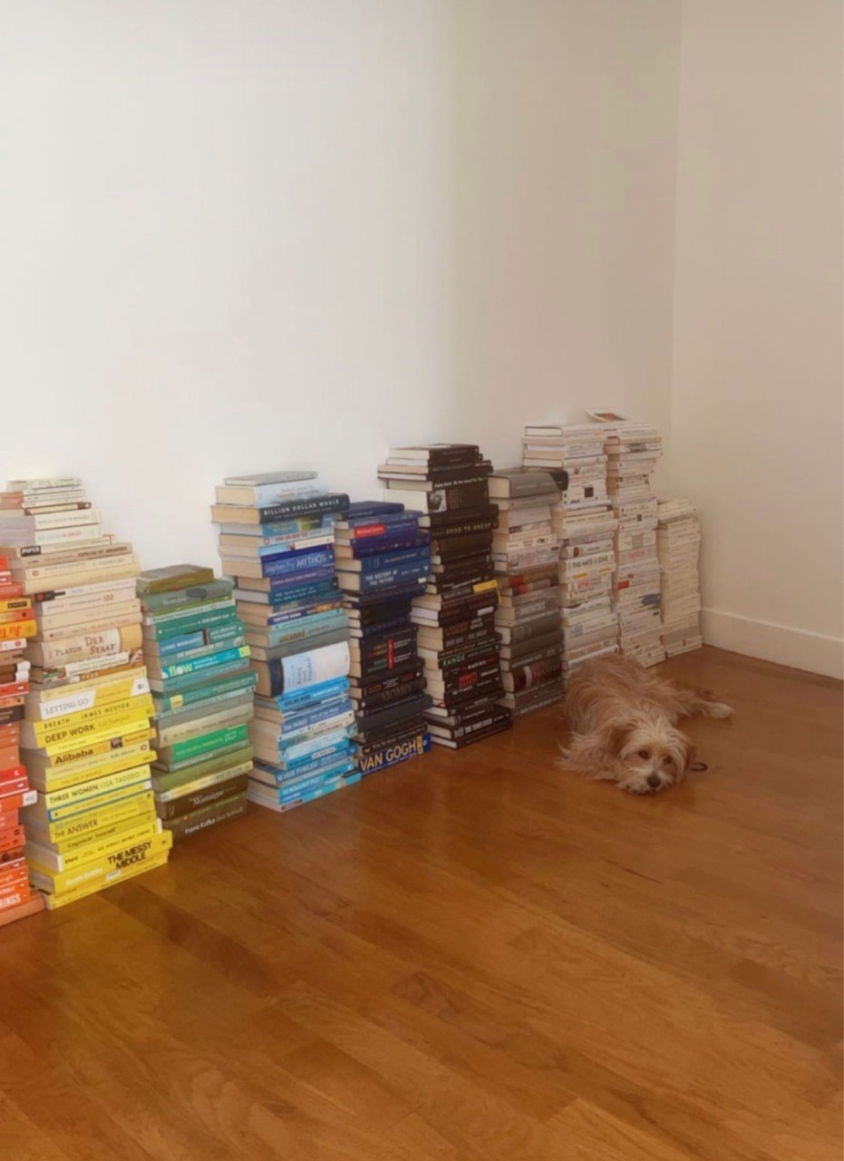 book, dog, and literature image