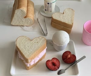 food, bread, and sweet image