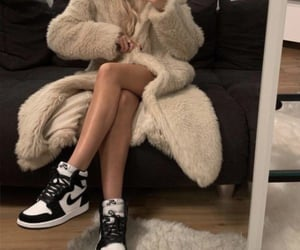aesthetics, faux fur, and casual image