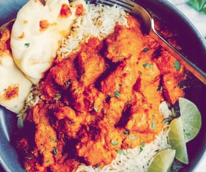curry, rice, and food image