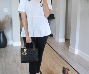 baby bump, dior, and outfit of the day image
