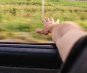 arm, Road Trip, and car image