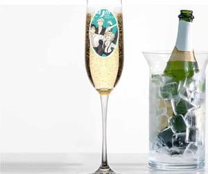 anime, yuri on ice, and champagne image