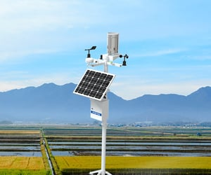 article, weather station, and samart agriculture image