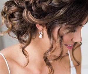 tresse, marron, and braid image