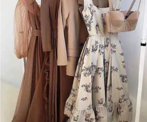 soiree dress hijab and gold party dress image